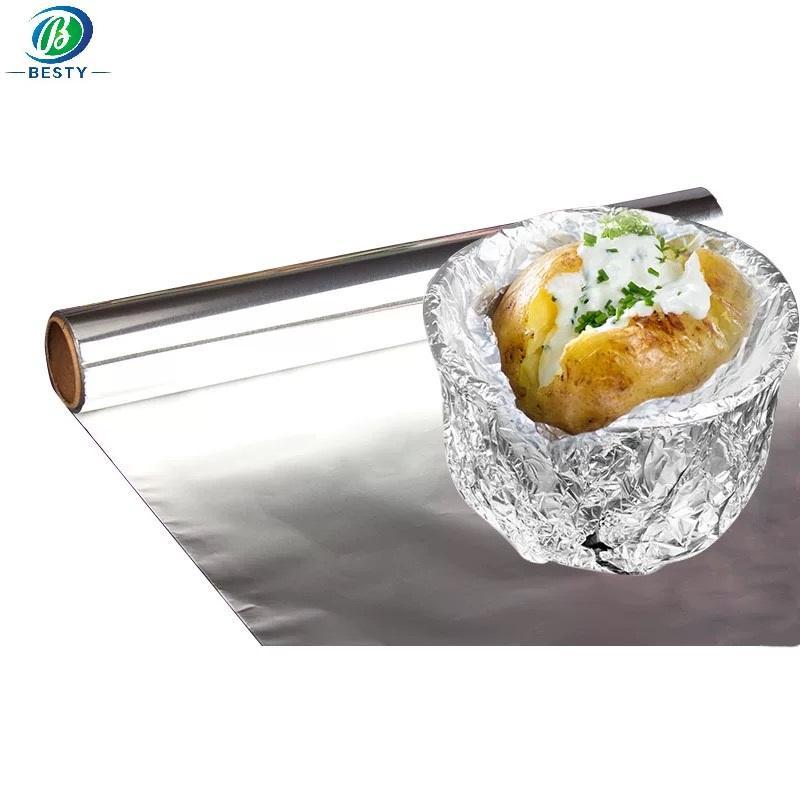 Household aluminum foil rolls 2