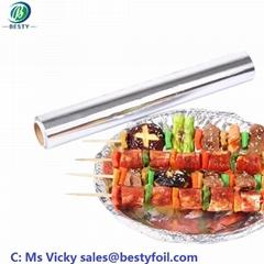 China manufacturer aluminum foil rolls