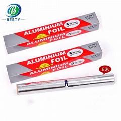Food package aluminum foil rolls