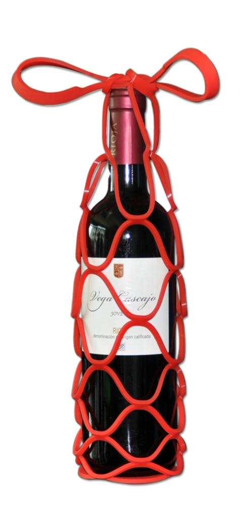 .Silicone Gift Wine Bag Holder 1