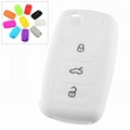 Silicone Gift Car Key Cover 1