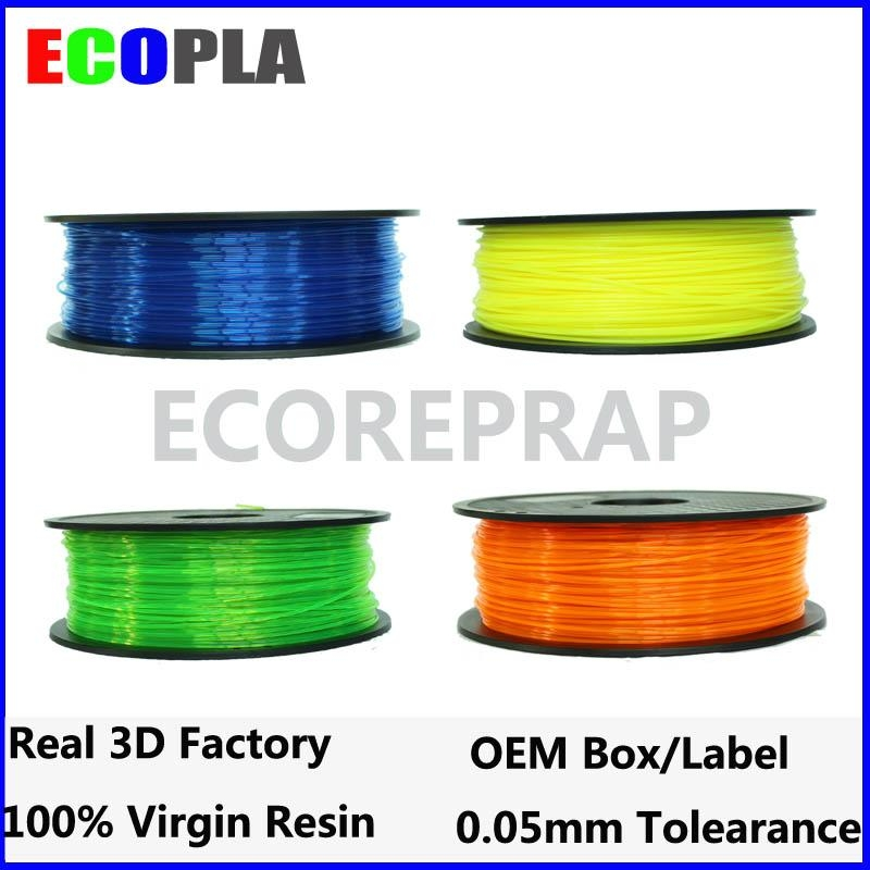 30 colors 1.75mm 3.00mm pla abs hips 3d filament for 3d printing  1