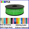 Top quality 1.75mm 1kg 2.2lbs pla low