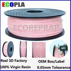 pink color 1.75 filament pla 1.75 pla filament