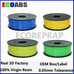1.75mm 2.85mm abs plastic rolls
