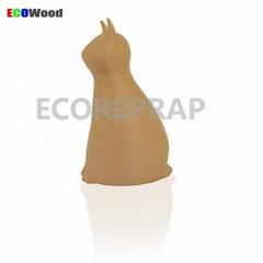 2016 new product 1.75mm 3.00mm wood plastic filament