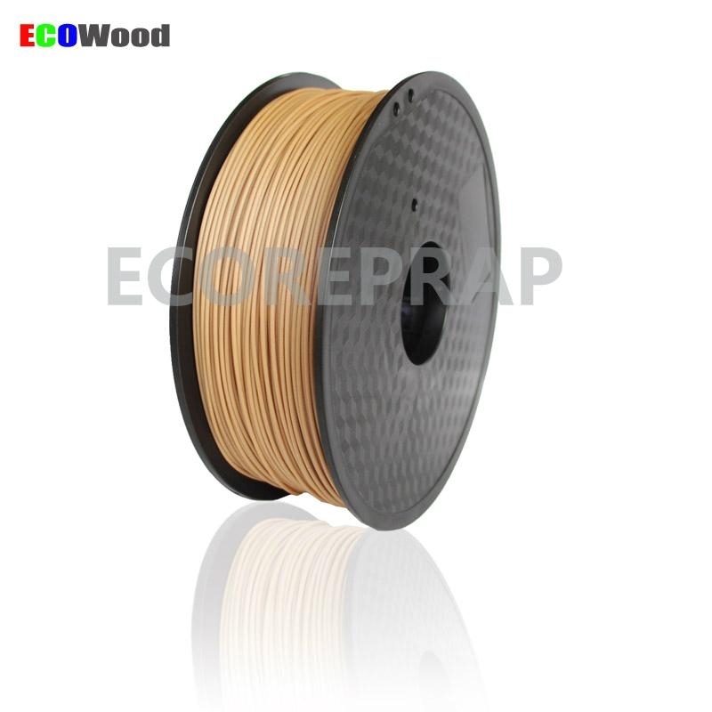 2016 new product 1.75mm 3.00mm wood plastic filament 2