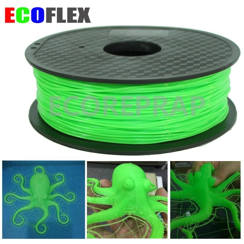 flexible tpu 3d printer filament 1.75mm 3mm 1