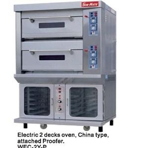 WEC-2Y   P(electric 2 Decks Oven   Attached Proofer) 1