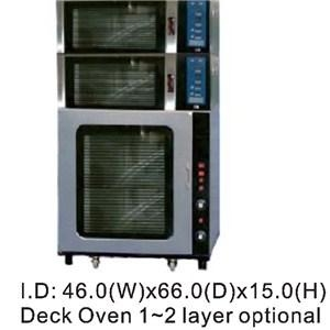 Electric Single Tray 40x60 Deck Oven WEZ-1Y 1