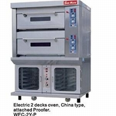 WGC-2Y   P(gas 2 Decks Oven   Attached Proofer)