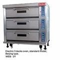 Electric Standard Deck Oven WEC,T,B,F,D