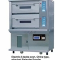 WEC-2Y   PR(electric 2 Decks Oven