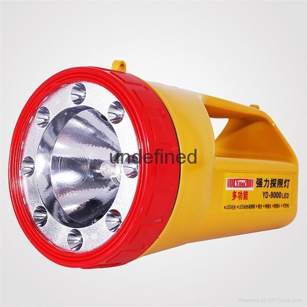廠家直銷  強光探照燈  YD-9000LED 1