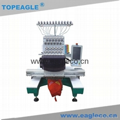 TOPEAGLE TEM-C1201 single head 12 needle cap embroidery machine