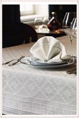 Custom design jacquard table cloth table cover