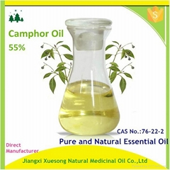 Pure and Natural Camphor Oil