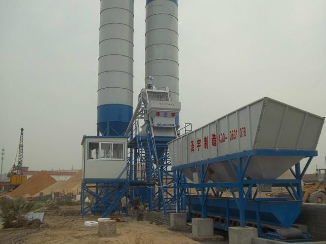 HZS50混凝土搅拌站 2