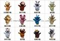 28 style finger plush toys dragon snake horse rabbit tiger panda sheep  3
