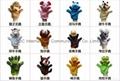 28 style finger plush toys dragon snake horse rabbit tiger panda sheep  4