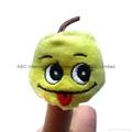 Fruit finger puppet plush toy  vegetable plush puppet finger plush  3