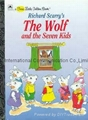 fairy tale finger puppets The wolf and the seven little goats 5