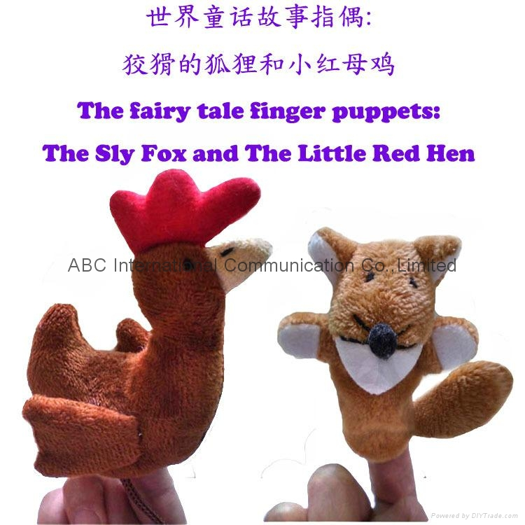 Fairy tale finger puppet plush toy hand toy fairy finger plush toy 2