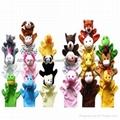 Finger plush puppet 20 styles animal