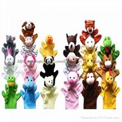 Finger plush puppet 20 styles animal finger puppet  big size finger puppet