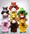 Finger plush puppet 20 styles animal finger puppet  big size finger puppet  5