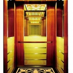 FAST Big Machine Room Passenger Lift With Hairline Stainless Steel