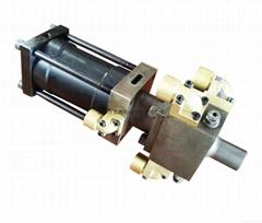 聚氨酯T型高壓混合頭直線高壓槍頭