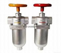 聚氨酯DN25自清洁过滤器