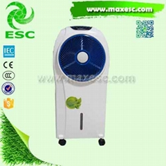 Low Power Cost Eco-friendly Moblie Evaporative Cooling Fan Air Cooler