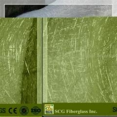 Fiberglass B-grade chopped strand mat small rolls