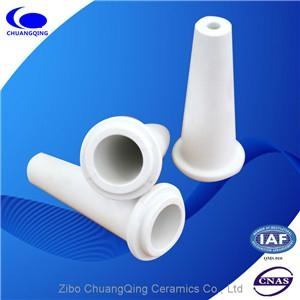 wear resistant alumina ceramic tapered tube for pulp  cleaner 1