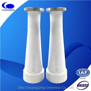 wear resistant alumina ceramic tapered tube for pulp  cleaner 3