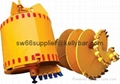 drilling rigs rock buckets and core barrel