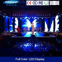 P3 high definition indoor full color LED display screen