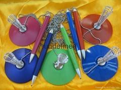 供应各种高档办公银行专用金属台笔