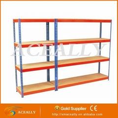 supermarket shelf steel rivet racking for sale