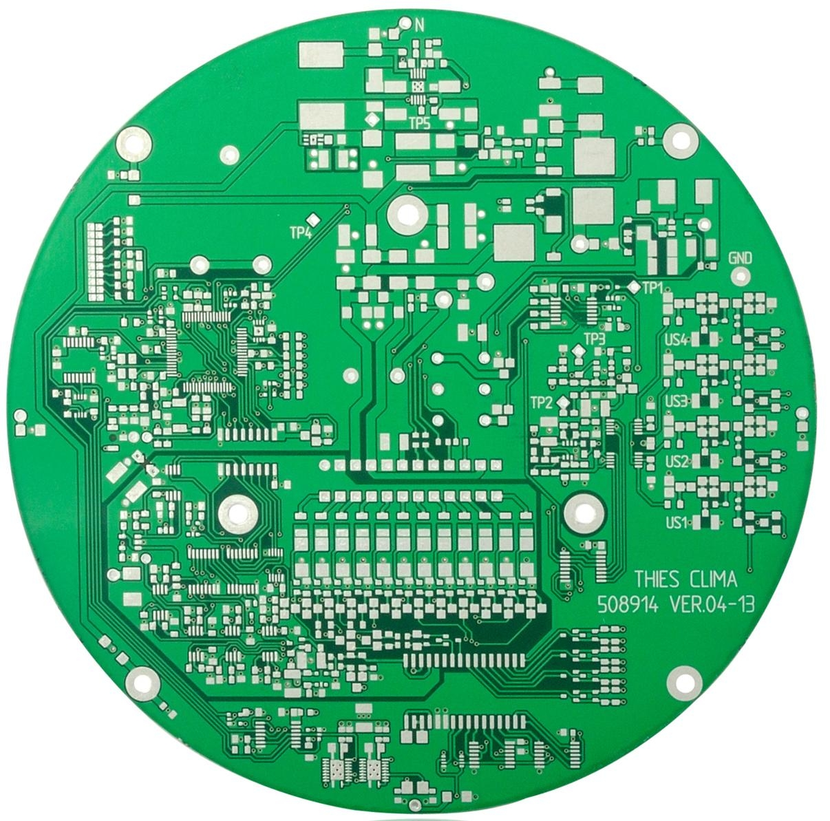 Aluminum PCBA Assembly Design LED  Electronic Circuit Board Outlet 5
