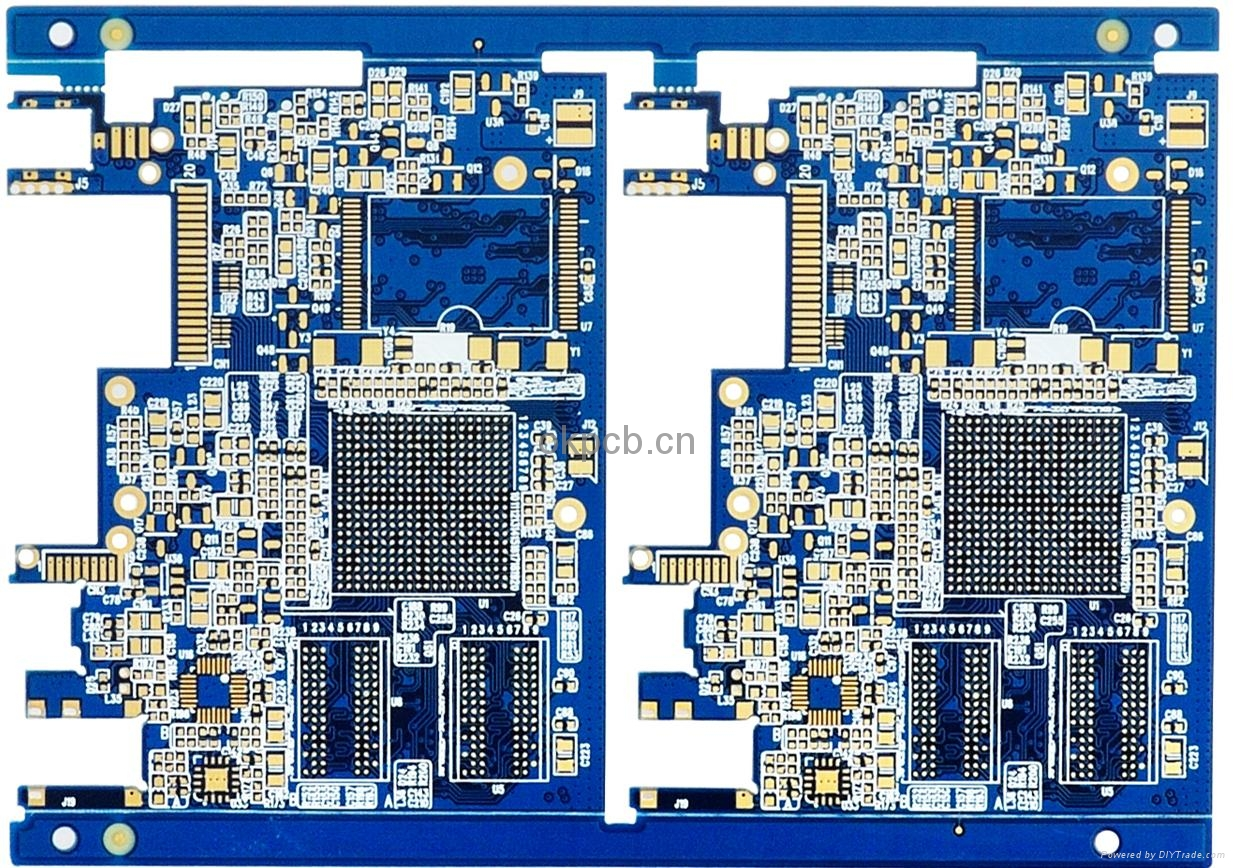 Double Side Electronic Circuit Board Supplier China Pcba Design 4 Layer 3 Printed