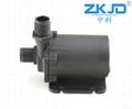 water screen fountain pump black fountain 24V water pump mini solar water pumps  3