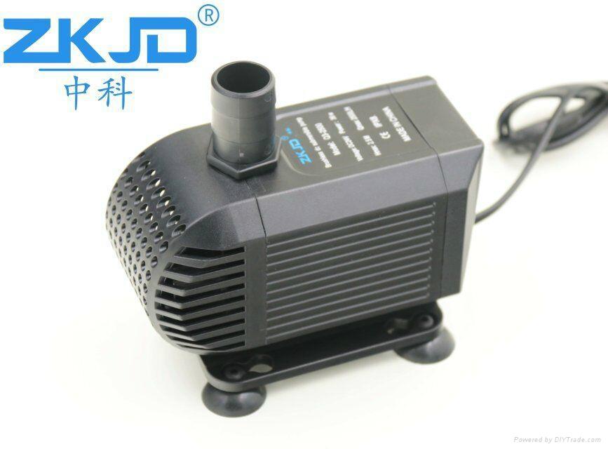 深圳中科24V直流家用水族鱼缸抽水换水泵静音过滤泵厂家 1
