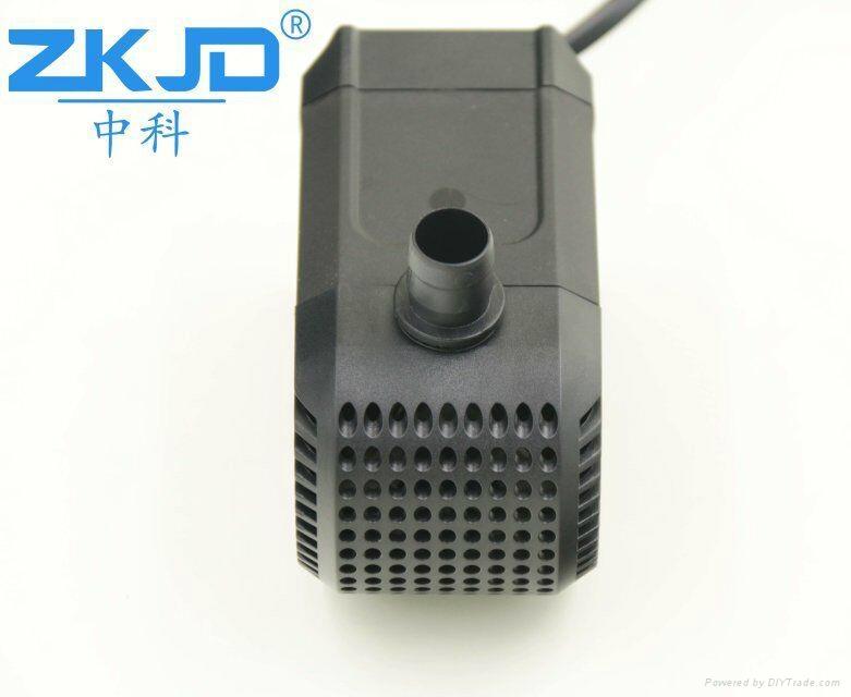 深圳中科24V直流家用水族鱼缸抽水换水泵静音过滤泵厂家 2