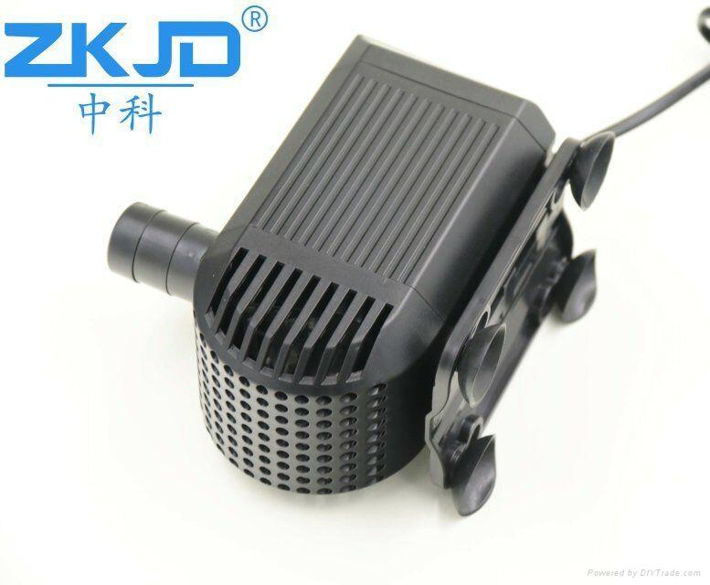 深圳中科24V直流家用水族鱼缸抽水换水泵静音过滤泵厂家 3