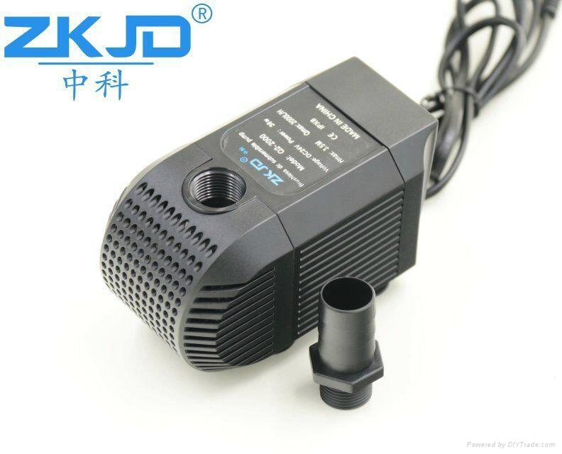 深圳中科24V直流家用水族鱼缸抽水换水泵静音过滤泵厂家 4