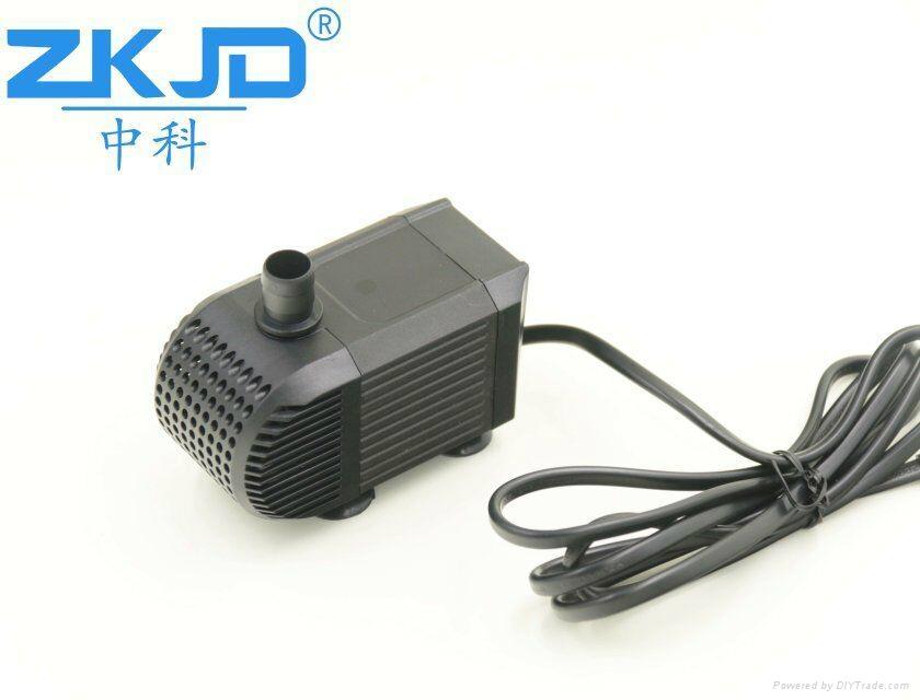 深圳中科24V直流家用水族鱼缸抽水换水泵静音过滤泵厂家 5