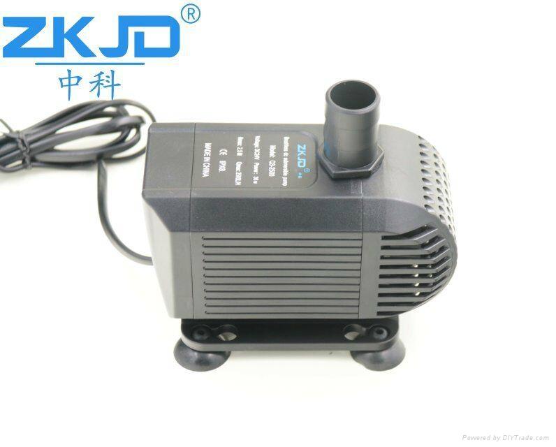 深圳24V中科水族循环太阳能鱼缸泵假山循环抽水泵厂家 2